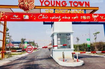Đúng 750tr/nền 100m2, full thổ cư dự án Young Town - Tây Bắc Sài Gòn.