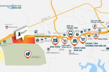 Mở bán phân khu The Central KonTum, gần trung tâm TP, giá rẻ 448tr/170m2