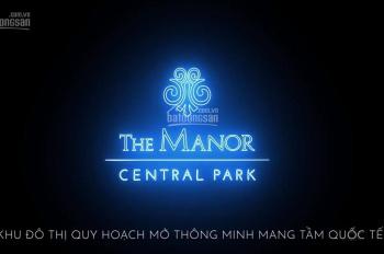 Biệt thự The Manor Central Park, 75m2 - 160m2 - 200m2 - 400m2, nhà 2 mặt tiền. Đầu tư hấp dẫn