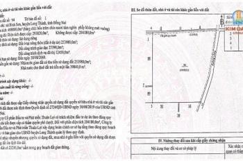 Bán đất dự án ngay sân bay Long Thành sát bên khu TĐC Bình Sơn, sổ đỏ thổ cư 100%, LH: 0974.186.916