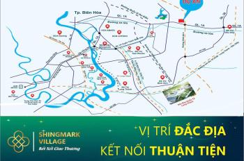 Bán đất nền dự án Shingmark Village, dt 105m2 tại thị trấn Trảng Bom- Đồng Nai