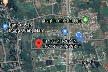 Bán nền biệt thự vườn TP. Bảo Lộc, 385m2