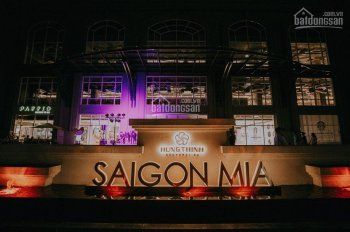 Cho thuê căn hộ Sài Gòn Mia căn 76m2 3PN nội thất sang trọng, cao cấp.View đẹp.