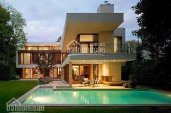 Biệt thự P. Thảo Điền, style hiện đại, 623m2 sân vườn hồ bơi, khu Compoud call 0977771919