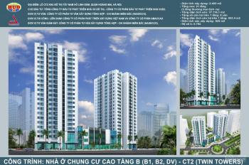 Cho thuê ki ốt, sàn thương mại tòa tháp đôi B1-B2 - CT2 Tây Nam Linh Đàm. Vị trí đẹp nhất dự án