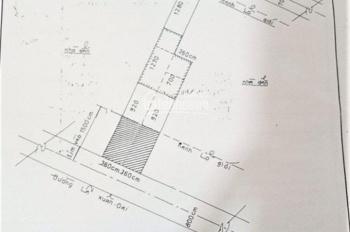 Cần bán đất mặt tiền Lã Xuân Oai, P. Tăng Nhơn Phú A, Quận 9. DT 127.44m2, Sổ hồng. Giá 12.7 tỷ