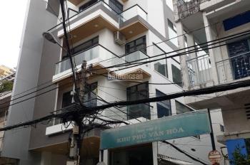 Bán nhà đường Thành Thái quận 10,(6.5x22m vuông vức-TDT: 140m2), GPXD: hầm 6 tầng, giá chỉ 140tr/m2