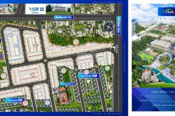 Bán đất khu công nghiệp Vsip 2, ngân hàng hỗ trợ 30%