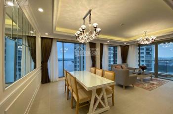 Cho thuê căn hộ 3 phòng ngủ lớn 142 m2, Đảo Kim Cương, view sông Sài Gòn, nội thất sang trọng