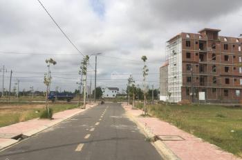 Đất nền mặt tiền quốc lộ 50, ngay thị trấn, sổ hồng riêng, giá rẻ, 10-12 triệu /m2