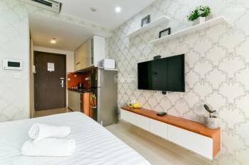 Cho thuê căn hộ studio River Gate Quận 4, 32m2, 9 triệu/tháng bao phí quản lý LH 0909019889