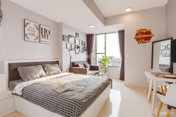 Cho thuê căn hộ studio River Gate, full nội thất, giá chỉ 10 triệu/tháng. LH 0909019889
