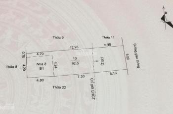 Cần bán gấp lô đất khu 15 phường Bình Hàn TP Hải Dương
