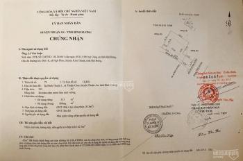 Bán nhà P.Thuận Giao,TP.Thuận An, Bình Dương, đất ở đô thị DTSD 355m2 có nhà C4 trên đất giá 8.5tỷ