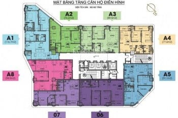 2 Mặt View Hồ. Bán căn góc A1/116m2 - 3 ngủ chung cư cao cấp HDI 55 Lê Đại Hành .Giá 9,9 tỷ full đồ
