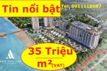 Chính thức mở bán căn hộ nghỉ dưỡng 5* Aria Vũng Tàu, 1PN 2.5 tỷ - 2PN 3.2 tỷ (VAT). LH 0911118687