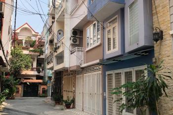 Cho thuê nhà nguyên căn, nội thất cơ bản, hẻm xe hơi 354/89/9 Phan Văn Trị, Bình Thạnh. 12tr/tháng