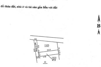 Bán gấp 47m2 x 2T, ngõ 405/418 Ngọc Thụy, Long Biên, Hà Nội, 850 triệu