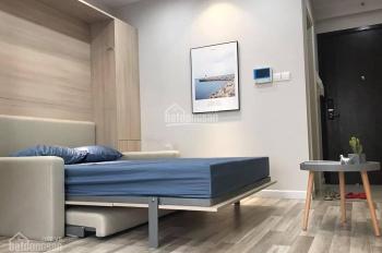 Chỉ 8tr/th cho thuê căn studio Vinhomes Trần Duy Hưng, 38m2, đồ cơ bản, tầng đẹp, view thoáng