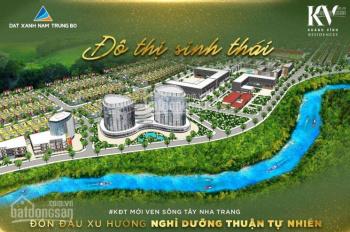 """""""Đi tắt đón đầu"""" khu đô thị xanh đầu tiên và duy nhất có sổ đỏ phía Tây Nha Trang chỉ 4 tr/m2"""