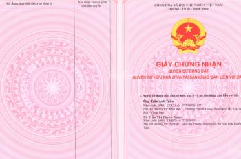Bán gấp 100m2 đất thổ cư Phú Mỹ, Bà Rịa Vũng Tàu, sổ hồng chính chủ giá 780tr