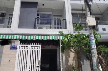 Bán gấp nhà 2 mặt tiền đường Số 25 KDC Bình Phú Q6, 4,5x20m 1 trệt 3 lầu