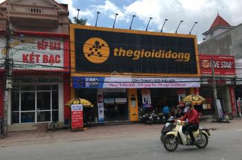 Cho thuê cả nhà 2 tầng mặt đường Trần Nguyên Hãn, mặt tiền 6m