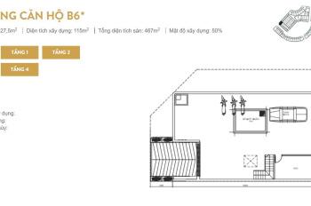 Bán căn góc mặt đường lớn shophpuse Sunshine City ngay Ciputra Hà Nội 227.5m2, giá bán 145tr/m2