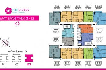 Chủ nhà chuyển công tác, cần bán gấp căn hộ 68m2 K3 để lại full nội thất giá tốt cho khách hàng