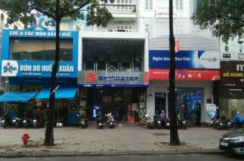 Cho thuê nhà MP phố Trung Hoà, DT 140m2 x 5,5 tầng, MT 7m, thang máy, tiện kinh doanh. Giá 95tr/th
