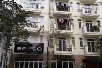 Cho thuê nhà biệt thự liền kề khu 96 Nguyễn Huy Tưởng, DT 75M2 x 5 tầng, mặt tiền 5,5m. 37tr/th