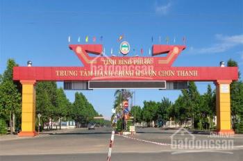 Đất giá rẻ thị trấn Chơn Thành, sổ sẵn chỉ 490 triệu/lô