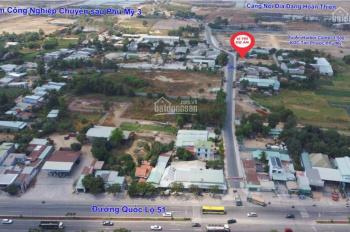Bán nền đất thổ cư, sổ hồng trao tay, mặt tiền đường 20m, trung tâm xã Phú Mỹ, Bà Rịa, 990 triệu