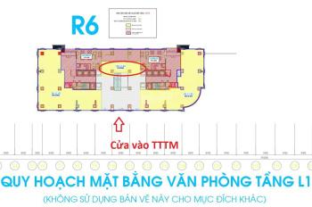 Sàn văn phòng tầng 1 R6 cần cho thuê vị trí cực đẹp LH: 0965826886
