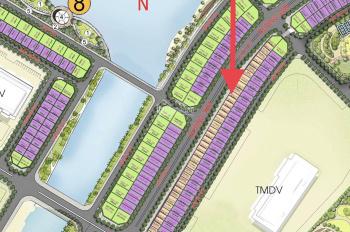 Bán liền kề Vinhomes Ocean Park, dãy Hải Âu 2 mặt đường 30m, diện tích 90m2, được phép kinh doanh
