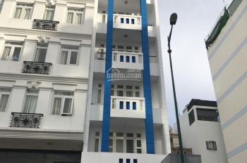 Cho thuê nhà MT đường Bạch Đằng, P. 2, Tân Bình. Diện tích: 5x14m 1 trệt 6 lầu trống suốt