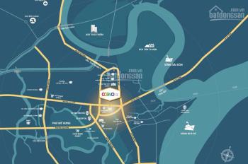 Mở bán căn hộ cao cấp Cosmo City 2PN giá chỉ 2,4 tỷ