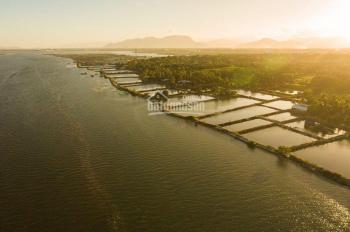 Đất nền view công viên sinh thái - Đầm Thủy Triều - sổ đỏ full thổ cư 100% - chỉ từ 350t TT Cam Đức