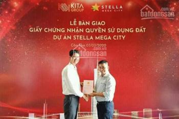 Kẹt tiền bán lại cặp nền góc gần công viên, trường học 2,1 tỷ/nền DA Stella Mega City - 0933443900