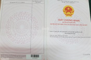 Chính chủ bán 600m2 (3 mặt tiền) đường Dương Diên Nghệ, mở rộng 32m, P. Tam Phước, Biên Hòa