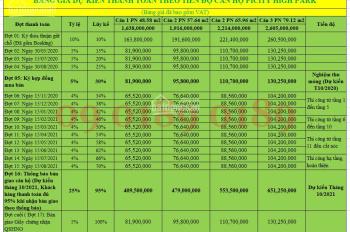 Cơ hội vàng Quý 2 với căn hộ Picity 3 PN + 2WC 79.12m2 chỉ 2,605 tỷ. LH 09.0189.0189 Booking Ngay