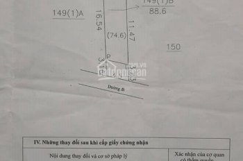 Chính chủ cần bán lô đất thổ cư 88,6m2 tại phường Trung Sơn Trầm, TX Sơn Tây, HN