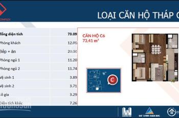 Bán một số suất ngoại giao căn hộ 86m2, 88m2, 92m2 dự án Việt Đức Complex - Quận Thanh Xuân