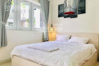 Cho thuê căn hộ dịch vụ tầng trệt đường D2, Phường 25, Q. Bình Thạnh. Giá: 4.8 triệu/th