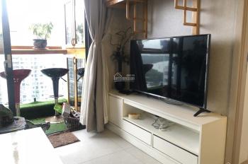 Cho thuê căn hộ 1PN có ban công, full nội thất đẹp chỉ 13tr/tháng, view công viên 0937410236
