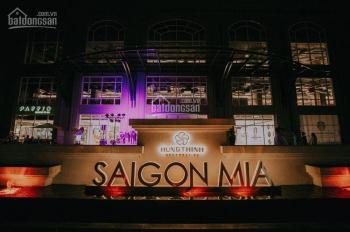 Mình cần cho thuê căn hộ Sài Gòn Mia 3PN 82m2 chốt giá 13 triệu, tặng kèm bộ rèm cửa cao cấp