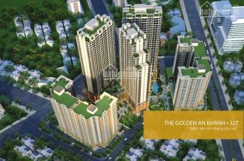 Chính chủ bán căn góc 2PN CC The Golden An Khánh, LH 0337424429