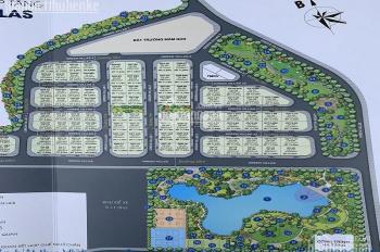 Bán biệt thự Vinhomes Green Villas 440m2, view hồ căn góc giá 75 tỷ
