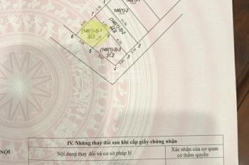 Bán đất thổ cư tổ 11 Thượng Thanh, Long Biên, Hà Nội. DT 30m2, giá 1,3 tỷ ĐT: 098 995 3616