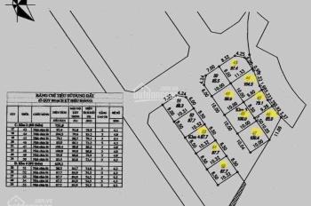 Bán thửa đất số 45, khu đất đấu giá Xóm Lò, Thượng Thanh, 79m, MT: 8.5m, giá 58tr/1m2